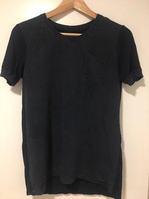 Woolrich Top azul oscuro