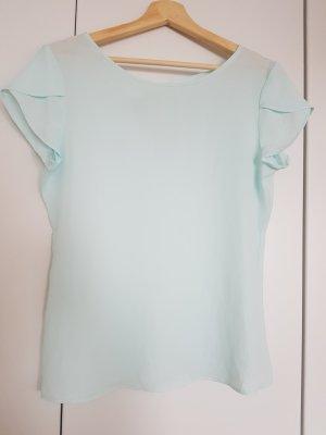 T-Shirt Bluse mit Schleifen Detail
