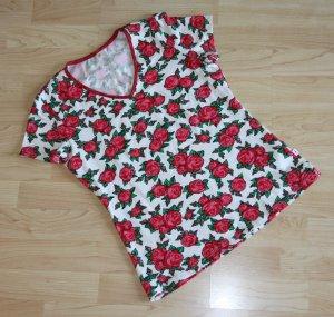 T-Shirt Blutsgeschwister Rosen Holy Rose Gr. S, ungetragen