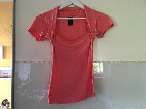 T-Shirt Bolero In apricot Größe S