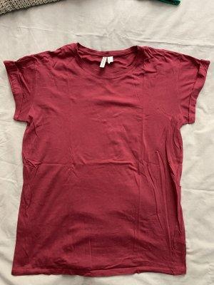 T Shirt bordeaux rot