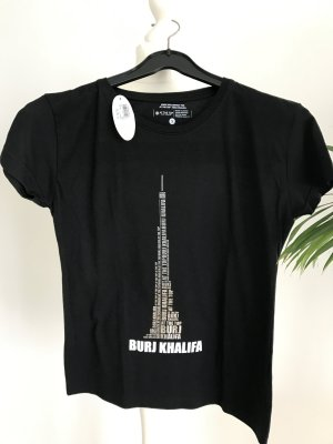 T-Shirt Burj Dubai Sightseeing schwarz dG S NEU