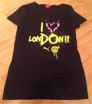 T-Shirt BVB Damen schwarz von PUMA