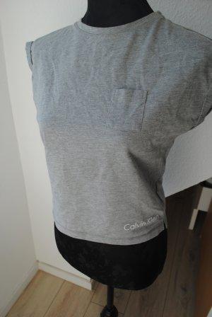 Calvin Klein Camiseta color plata-gris claro