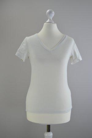 T-Shirt Camera beige Größe S