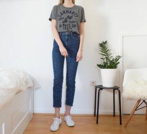T-Shirt Carhartt oversized grau meliert