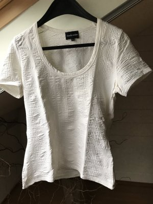 Claudia Sträter Boatneck Shirt white