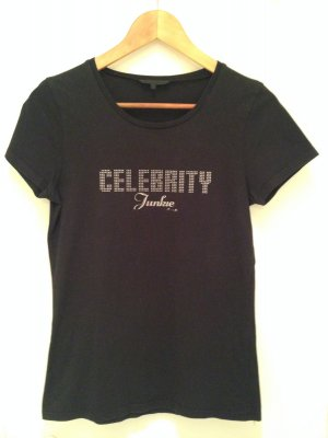 "T-Shirt ""Celebrity Junkie"" von French Connection UK in Größe S (36)"
