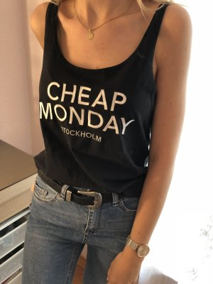 T-Shirt Cheap Monday schwarz Gr. XS