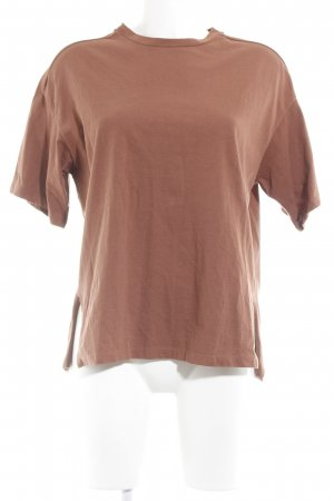 T-Shirt cognac Casual-Look