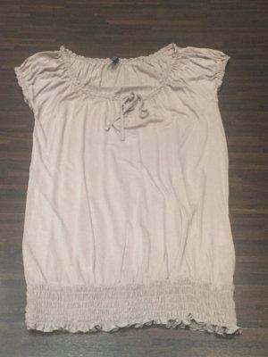 T-Shirt Creme / Beige Gr. S