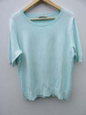 Vintage Camisa holgada azul bebé