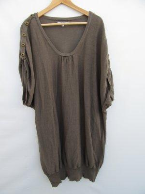 Vintage Lang shirt olijfgroen