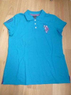 T-Shirt Damenshirt blau Gr. XL U.S. Polo Assn. T-Shirt Damenshirt blau Gr. XL U