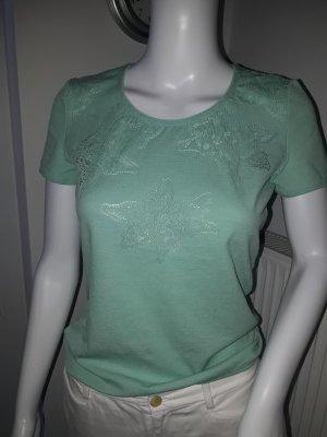 T-Shirt der Luxusmarke Wolford Gr. 36-38.In hell-grün.