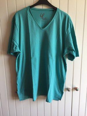 T-Shirt der Marke Ulla Popken in türkis, Gr. 46/48