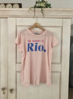 Wildfox Print Shirt multicolored cotton