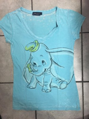 T-Shirt Disney Dumbo türkis, bunt in Größe L