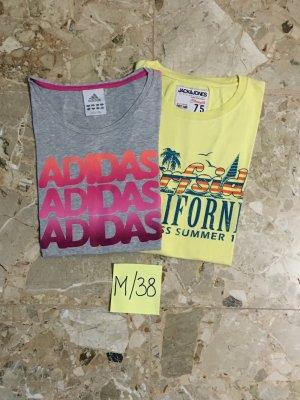 Adidas Camiseta multicolor Algodón