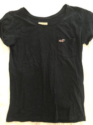 T-Shirt dunkelblau Hollister