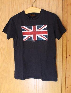 T-Shirt, dunkelblau, von Ben Sherman, Union Jack, Britische Flagge, Gr. M