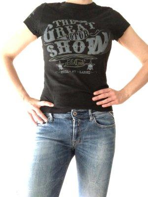 T-Shirt dunkelgrau von dutch Größe M