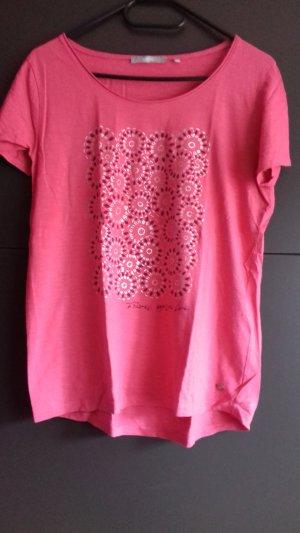 Cecil T-shirt argento-rosa