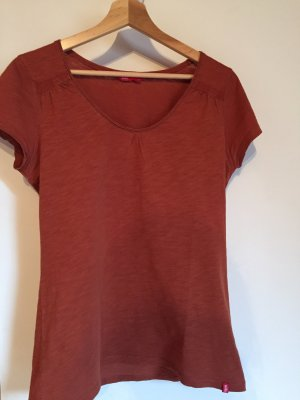 Edc Esprit T-Shirt cognac-coloured