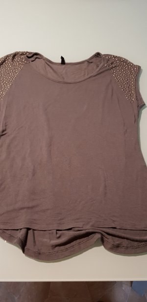 Ann Christine T-shirt gris foncé