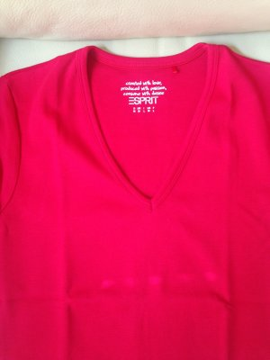T-Shirt Esprit Gr. S tomatored