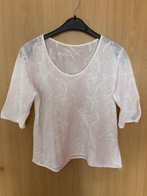 Camisa de ganchillo blanco Algodón