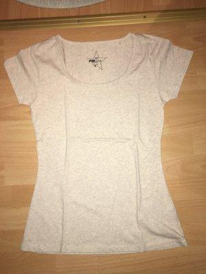 T-Shirt Fishbone beige in Größe M