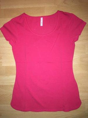 T-Shirt Fishbone pink in Größe M