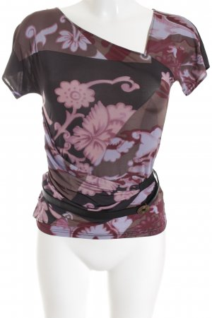 T-Shirt florales Muster Casual-Look