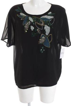 T-Shirt florales Muster Elegant