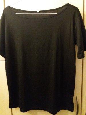 T-Shirt * Frauen * schwarz * one-shoulder * schulterfrei * Größe M *ungetragen