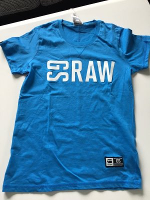 T-Shirt G-Star blau Gr S neu