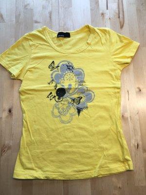 Vero Moda T-shirt jaune-jaune primevère coton