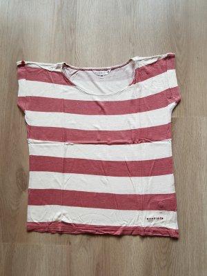 T-Shirt gestreift Ringelshirt oversized