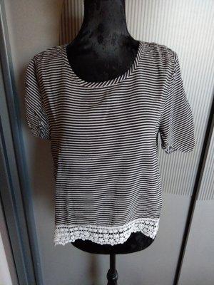 Abercrombie & Fitch T-shirt bianco-nero