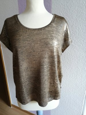 Only Camicia oversize bronzo-oro