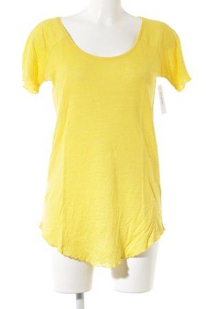 T-Shirt goldorange Casual-Look