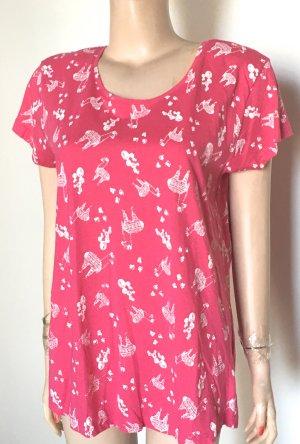 T-Shirt Gr. M nagelneu Pinke/creme