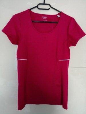 T-shirt, Gr. M, rot, Esprit