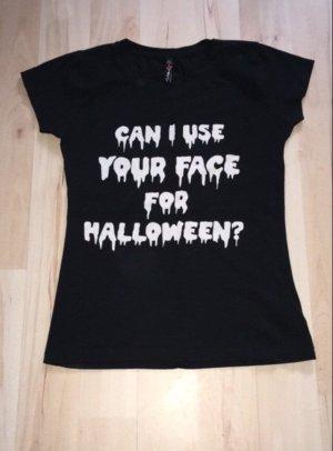FB Sister Print Shirt black-white