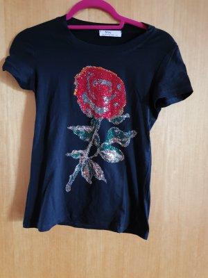 T-Shirt Gr.S/M mit Glitzer