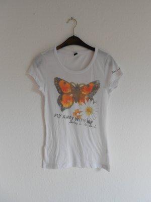 T - Shirt gr S von Only mit Aufdruck