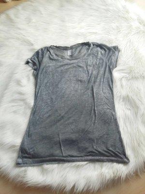 T-Shirt grau, Größe M