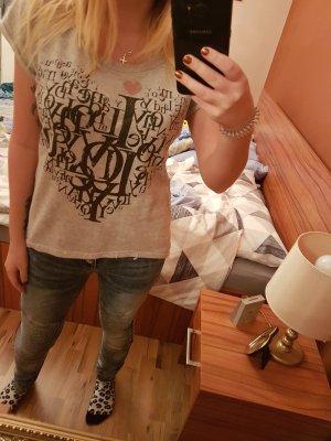 T-Shirt grau Größe XS