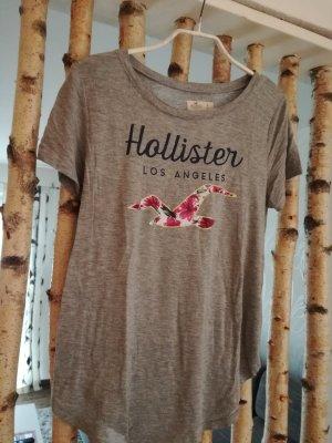 T-Shirt grau Hollister
